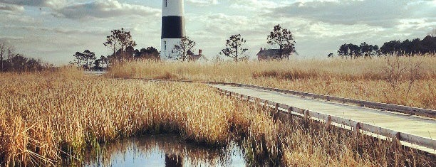 Bodie Island Lighthouse is one of Mattさんの保存済みスポット.