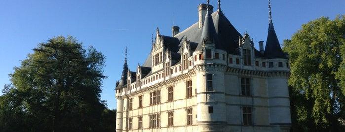 Château d'Azay-le-Rideau is one of Bienvenue en France !.