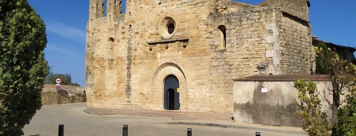 Iglesia de Sant Esteve de Peratallada is one of Tempat yang Disukai Jordi.