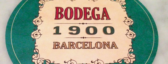 Bodega 1900 is one of Tapeo y vermuteo!.