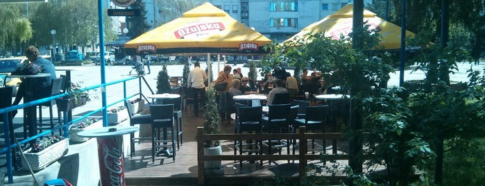 Caffe Bar Maratonac is one of Orte, die Mia gefallen.