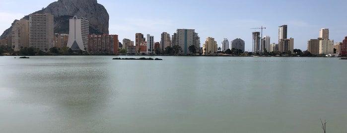 Las Salinas de Calp is one of Lugares favoritos de Mario.
