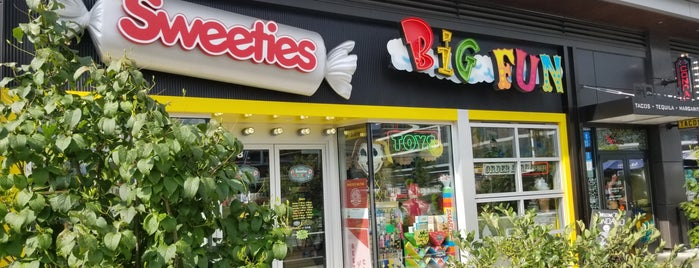 Sweeties Big Fun is one of cleveland.