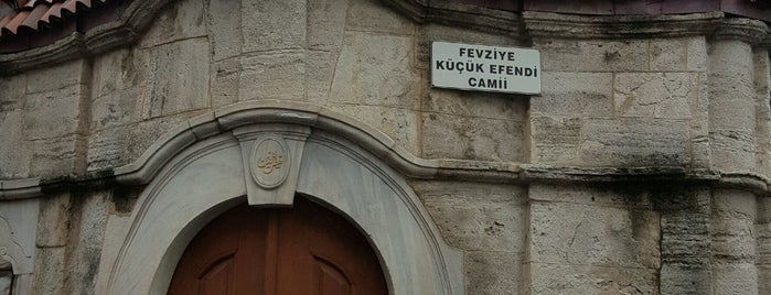 Fevziye Küçük Efendi Camii is one of 3-Fatih to Do List | Spiritüel Merkezler.