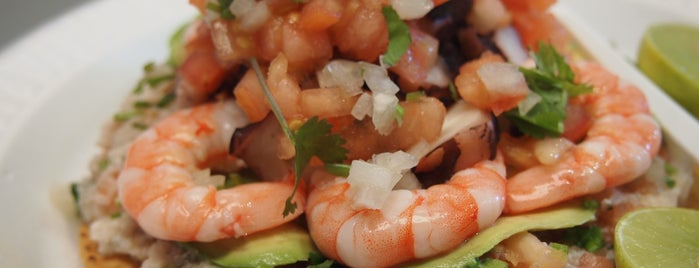 Mariscos Jalisco is one of Jonathan Gold's 101 - 2017.