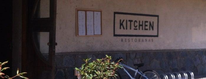 Kitchen in Nida is one of Orte, die Justinas gefallen.