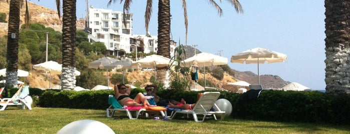 Simin Beach&Restaurant is one of Aegean Places.