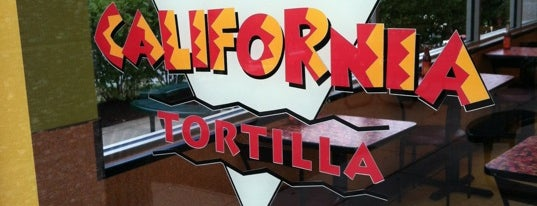 California Tortilla is one of Md eats, etc..