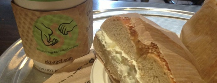 Brooklyn Bagel & Coffee Company is one of #QUEENSLOVESuberX.
