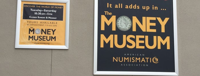 Money Museum is one of Museums.