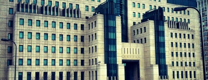 MI6 is one of London Essentials.