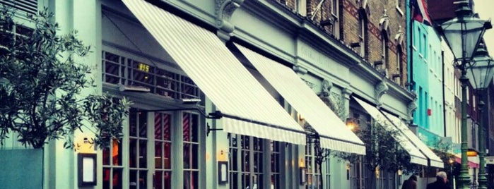 Charlotte Street Hotel is one of OJM's guide to eating & drinking in London.