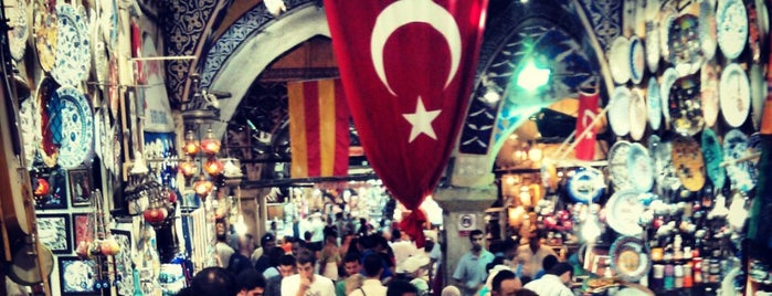Großer Basar is one of Istanbul 2014.
