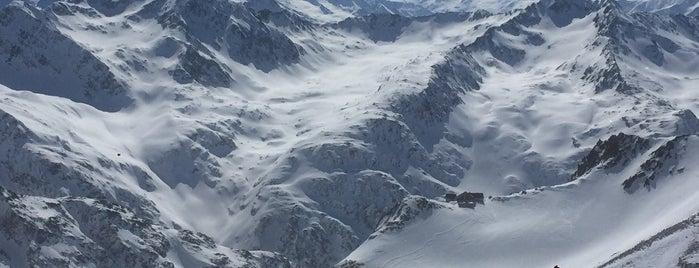 Fernau Bergstation is one of Stubaier Gletscher / Stubai Glacier.