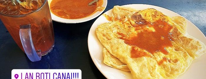 Lan Roti Canai is one of KL - streetfood.