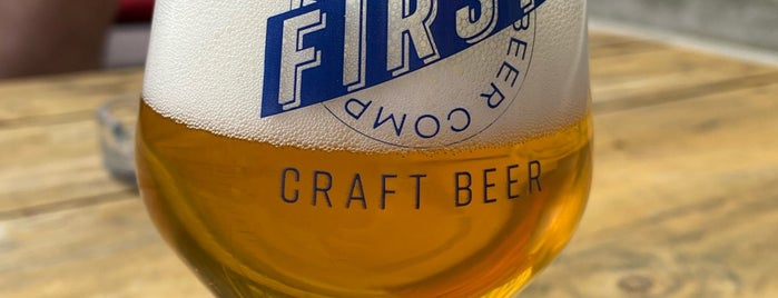 FIRST The Craft Beer Company is one of Budapest, en igy szeretlek.