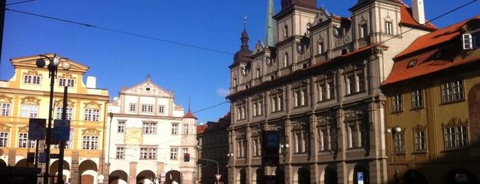 Malostranské náměstí is one of Prag - Must see.