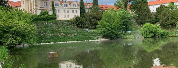 Zámek Průhonice is one of สถานที่ที่ Veronika ถูกใจ.