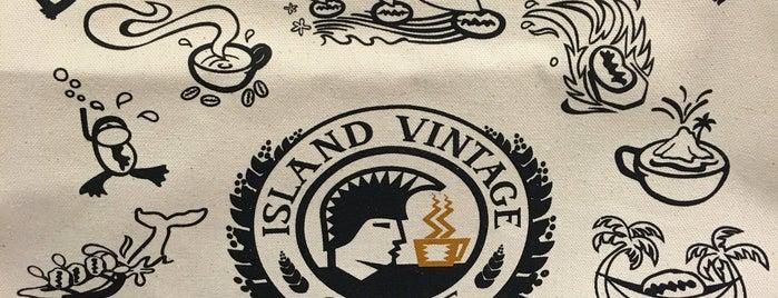 Island Vintage Coffee is one of Honolulu.
