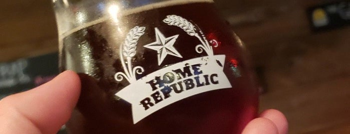Home Republic Brewpub is one of Breweries or Bust 2.