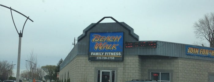 Beach Walk Family Fitness is one of health and fitness.