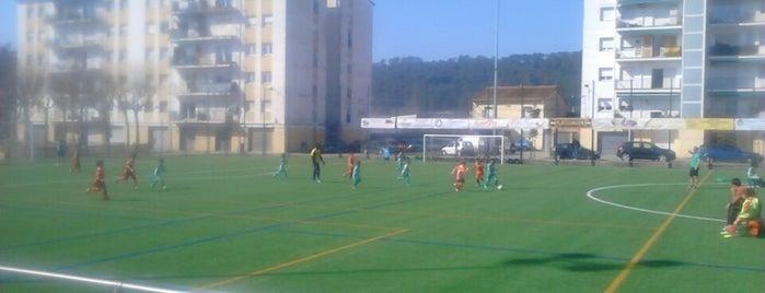 Camp municipal de futbol Sarrià de Ter is one of Instalaciones Deportivas / Esports.