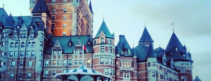Fairmont Le Château Frontenac is one of Quebec City.