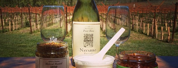 Navarro Vineyards & Winery is one of North Bay.