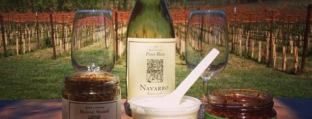 Navarro Vineyards & Winery is one of Beyond the Peninsula.
