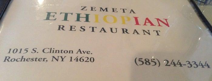 Zemeta Ethiopian Restaurant is one of Best Vegan Eats in Rochester.