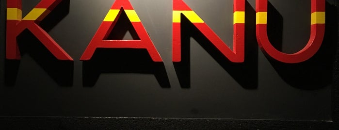 Kanu Lounge is one of NY.