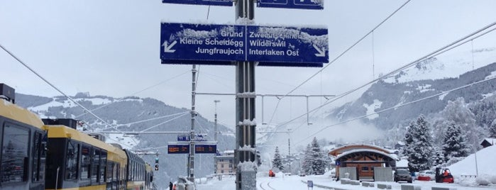 Bahnhof Grindelwald is one of The #AmazingRace 22 map.