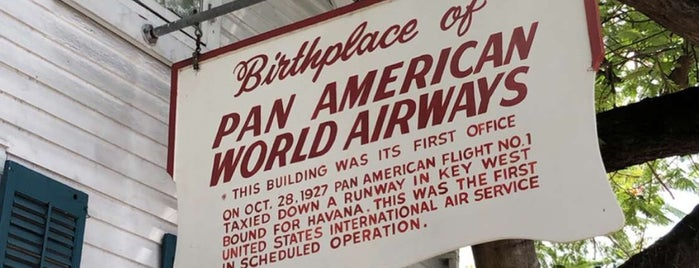 Birthplace of Pan American Airlines is one of Florida Keys.
