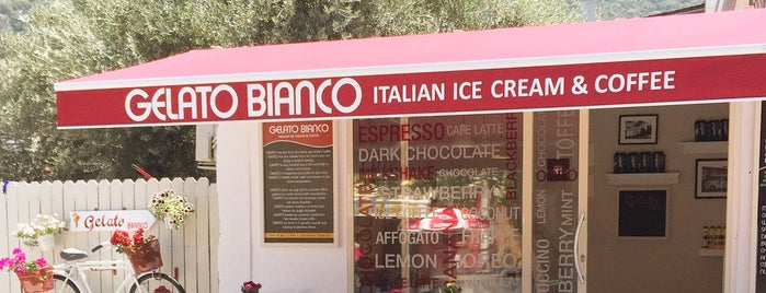 Gelato Bianco Ölüdeniz is one of Lugares guardados de Cagla.