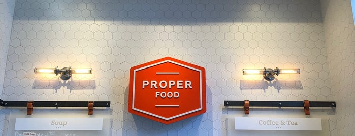 Proper Food is one of Locais curtidos por Samantha.