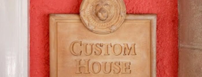 Custom House is one of Tempat yang Disukai David.