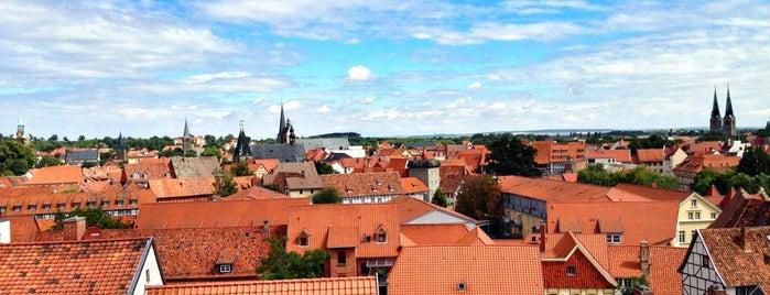 Historische Altstadt Quedlinburg is one of Harz Mountains.