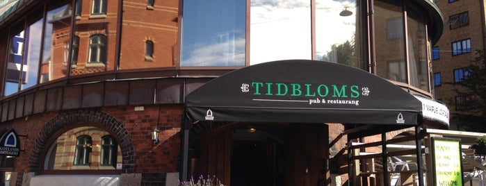 Tidbloms Pub & Restaurang is one of Pubkräälet 2013.