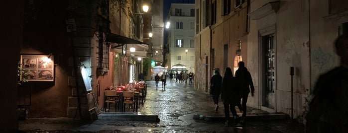 Trastevere is one of Rome.