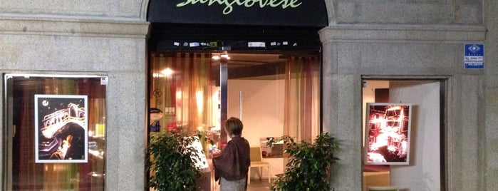 Sangiovese is one of Restaurantes.
