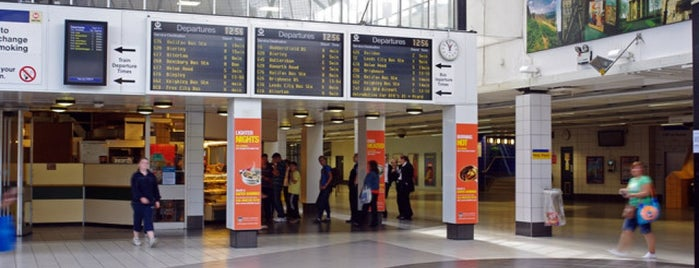 Bradford Interchange Bus Station is one of United Kingdom, UK.