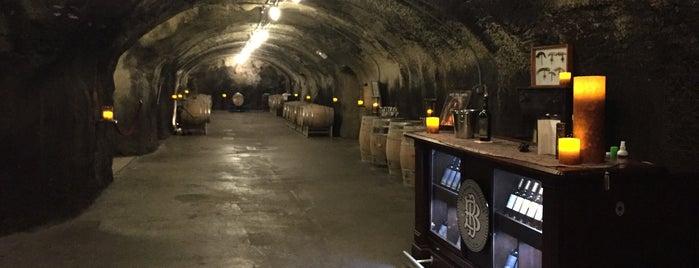 Beringer Vineyards is one of san fo.