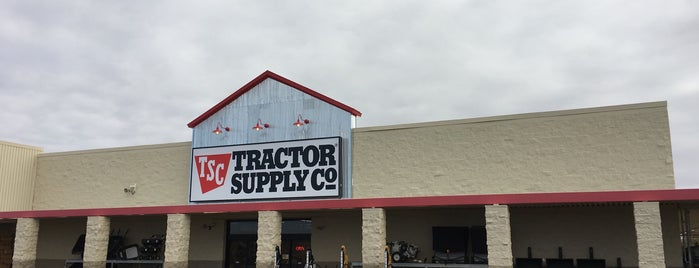 Tractor Supply Co. is one of Cities To Visit.