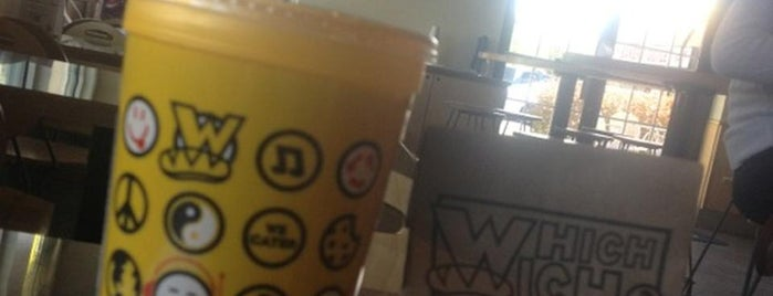 Which Wich? Superior Sandwiches is one of Lugares favoritos de Clint.