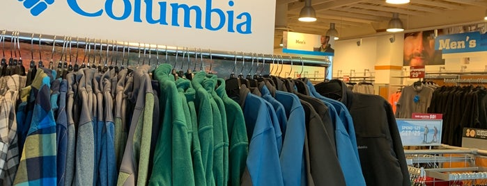 Columbia Sportswear Outlet is one of Gespeicherte Orte von Vinicius.