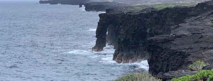 Holei Sea Arch is one of Big Island.