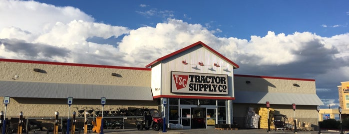 Tractor Supply Co. is one of Visited Stores 2018-?.