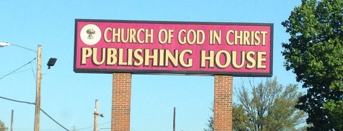 Church Of God In Christ Publishing House is one of Lugares favoritos de Leslie.