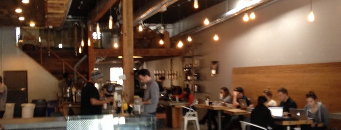Flywheel Coffee is one of Laptop-friendly cafés in SF.