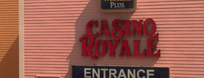 Casino Royale $1 Bar is one of All Things Vegas.
